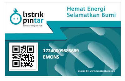 Download kartu listrik pintar pascabayara dan token