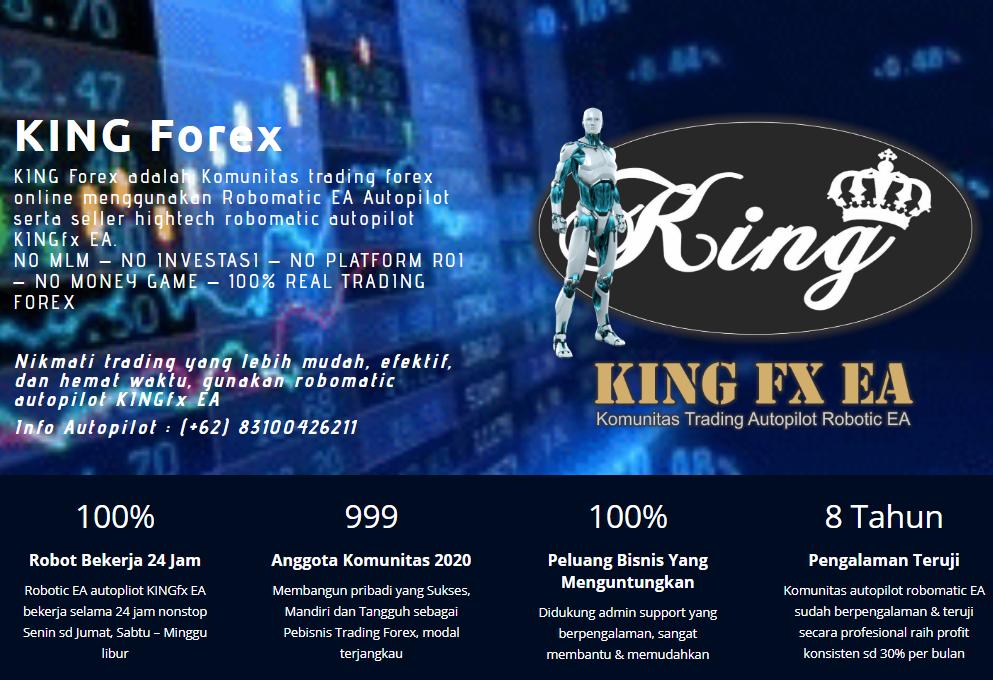 Trading Forex Dengan Menggunakan Robot Autopilot King Fx ...
