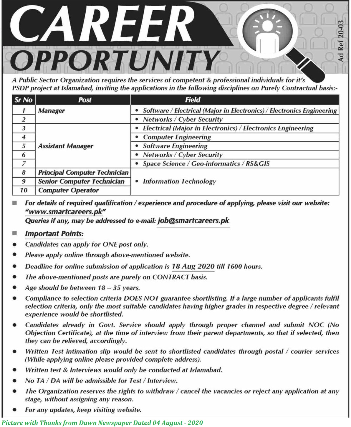 Suparco Atomic Energy Jobs 2020 - Latest Jobs in Atomic Energy Commission 2020