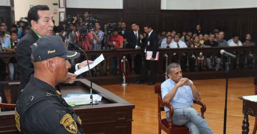 ANTAURO HUMALA NO VA MÁS: Declaran improcedente candidatura por tener sentencia firme