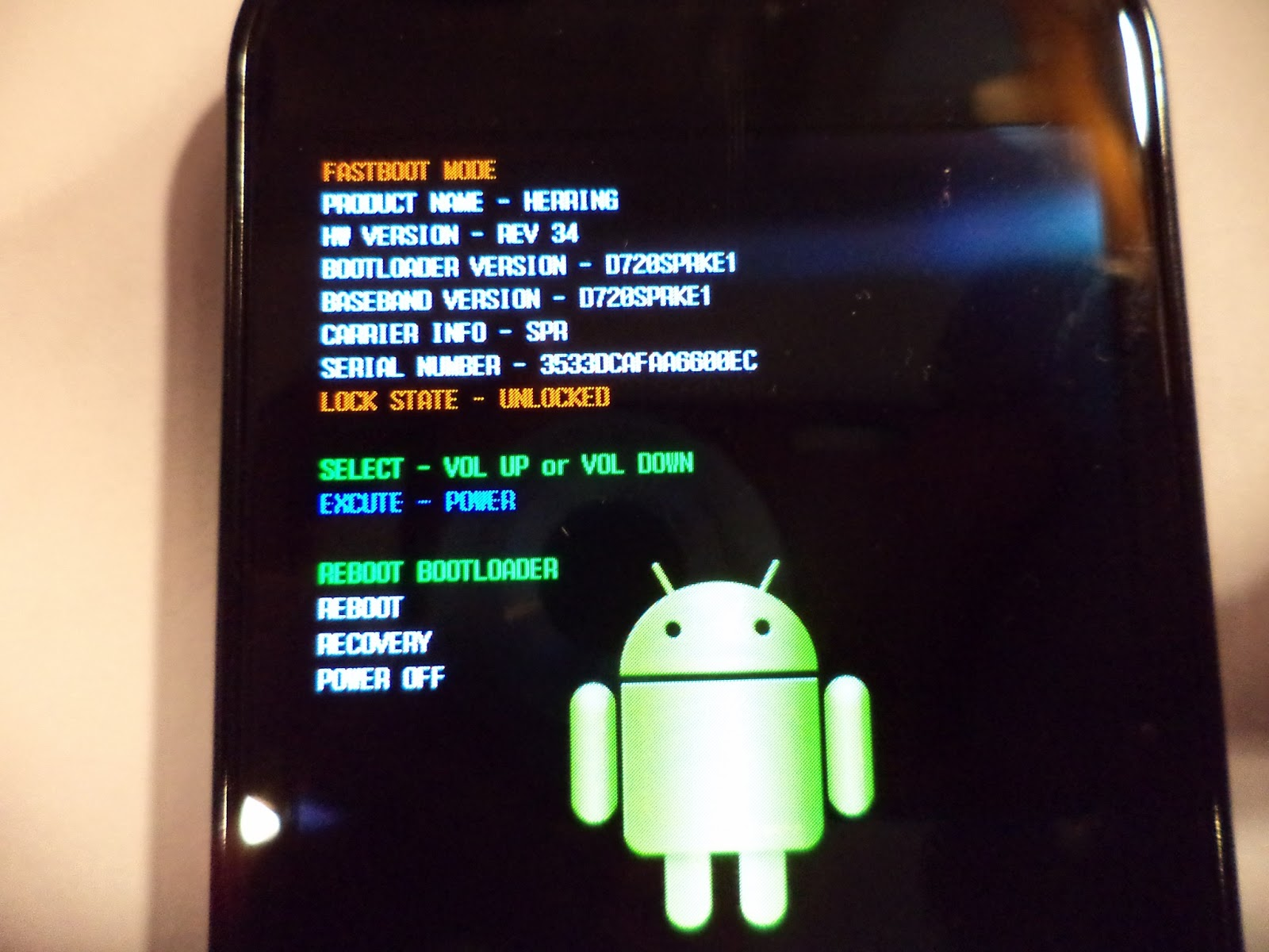 Accidental Architect: Nexus S 4G Fastboot Waiting for Device