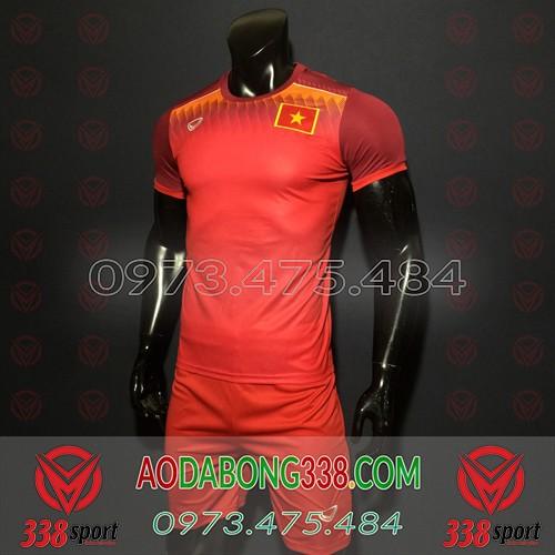 Áo Đội Tuyển Việt Nam 2020 Training Đỏ