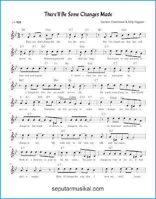 There'll Be Some Changes Made 1 chords jazz standar