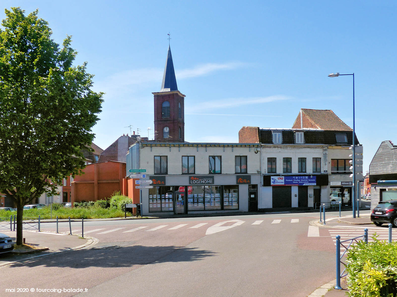 Boulevard Constantin Descat, Tourcoing, 2020