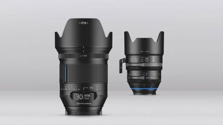 Irix 30mm f/1.4 и Irix Cine 30mm T1.5