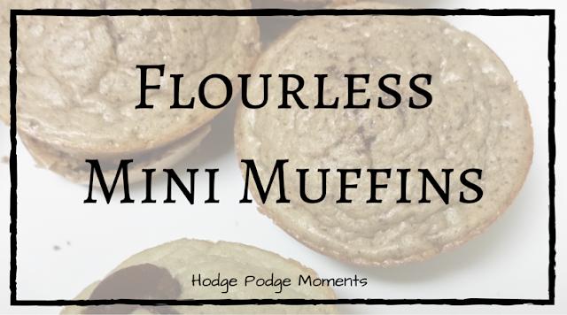 Flourless Mini Muffins