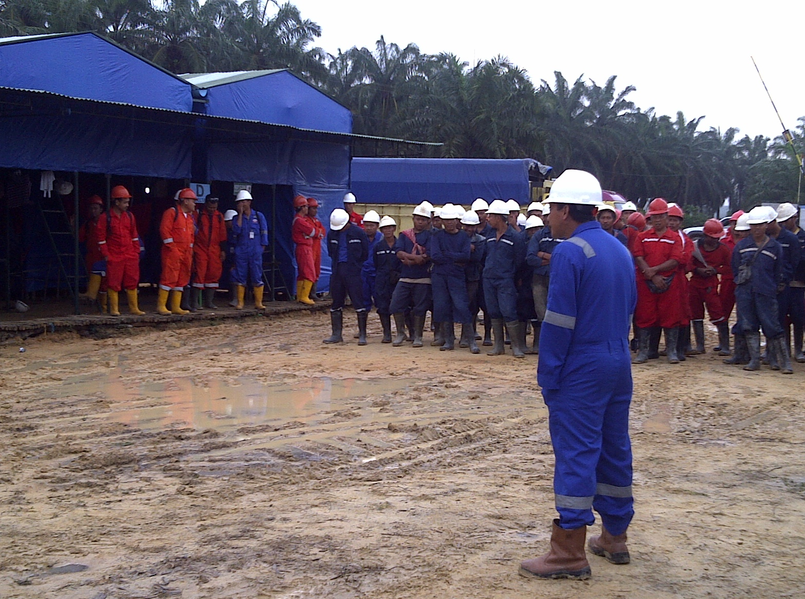 NOTES SEISMIC SURVEY WORKERS