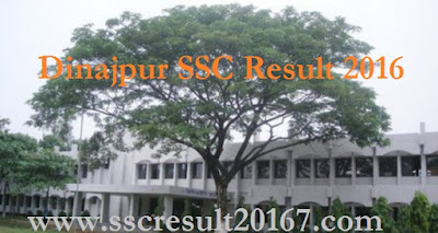 SSC Result 2016 Dinajpur Education Board in Bangladesh
