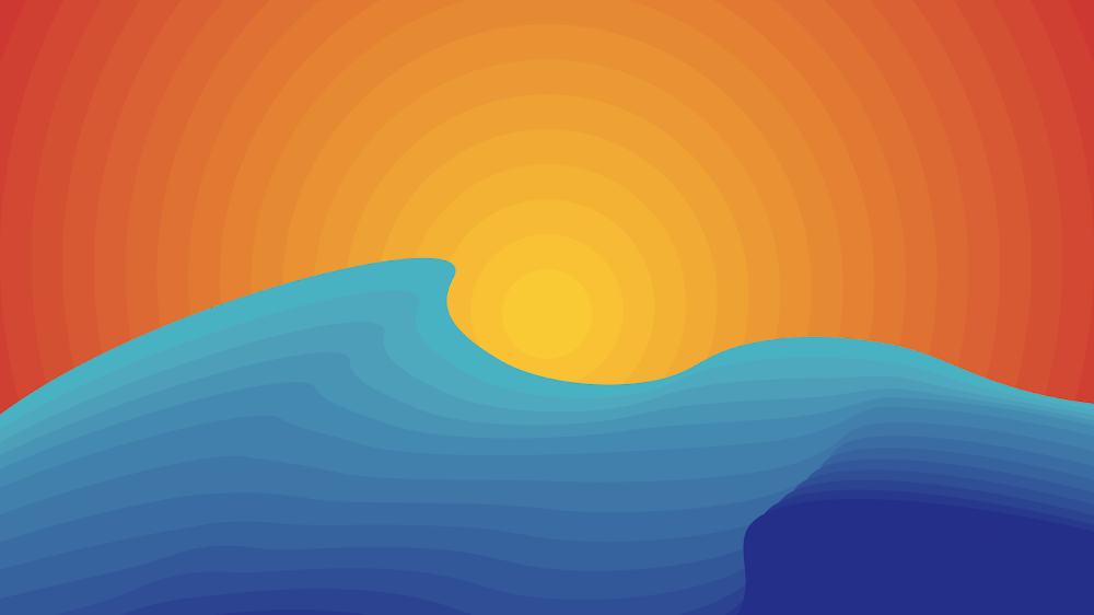 cool-summer-desktop-wallpaper-minimalist-waves-and-sun-for-laptop-pc-macbook-macos