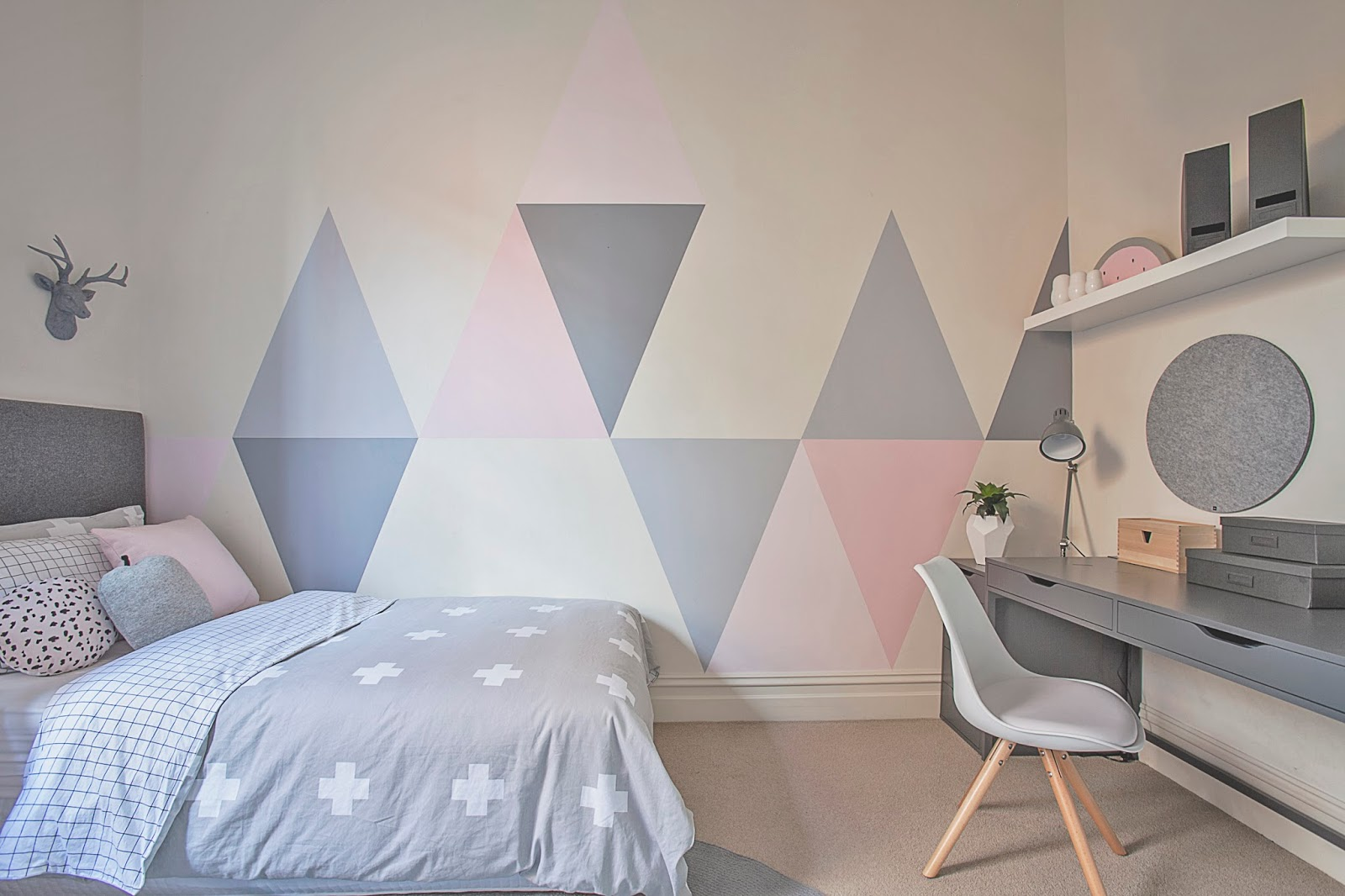 Painting Ideas For Kids Bedrooms Little Liberty Tween Triangle