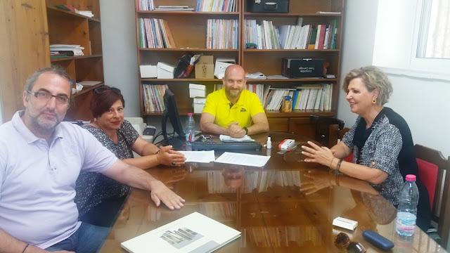Συνάντηση Όλγας Γεροβασίλη με ΕΛΜΕ Άρτας