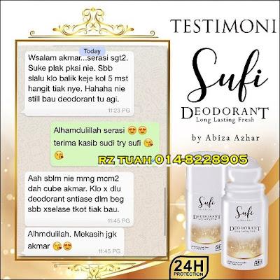 sufi deodorant