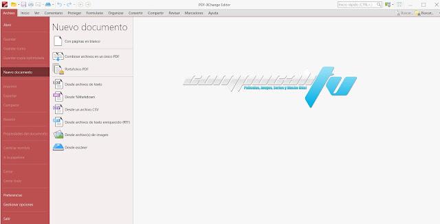 PDF-XChange Editor Plus Versión Full Español