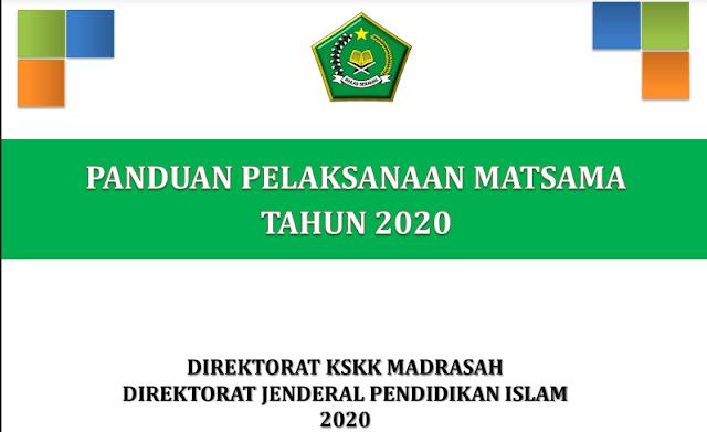 Materi Dan Pelakasanaan panduan MATSAMA pada tahun 2020/2021