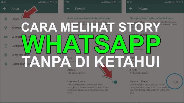 Cara Melihat Story Whatsapp Tanpa Diketahui Pemilik Status