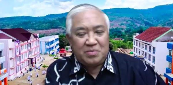Din Syamsuddin: Tuntutan KAMI Jelas, Desak Pemerintah Utamakan Penyelamatan Rakyat Dari Covid-19 Ketimbang Perusahaan Besar