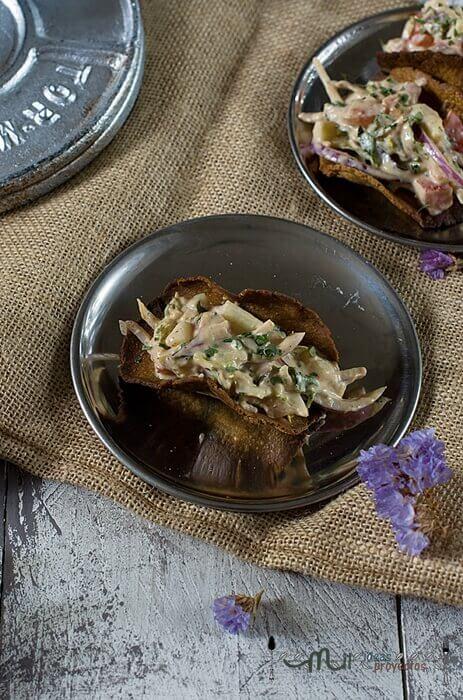 receta de tacos crujientes de pollo
