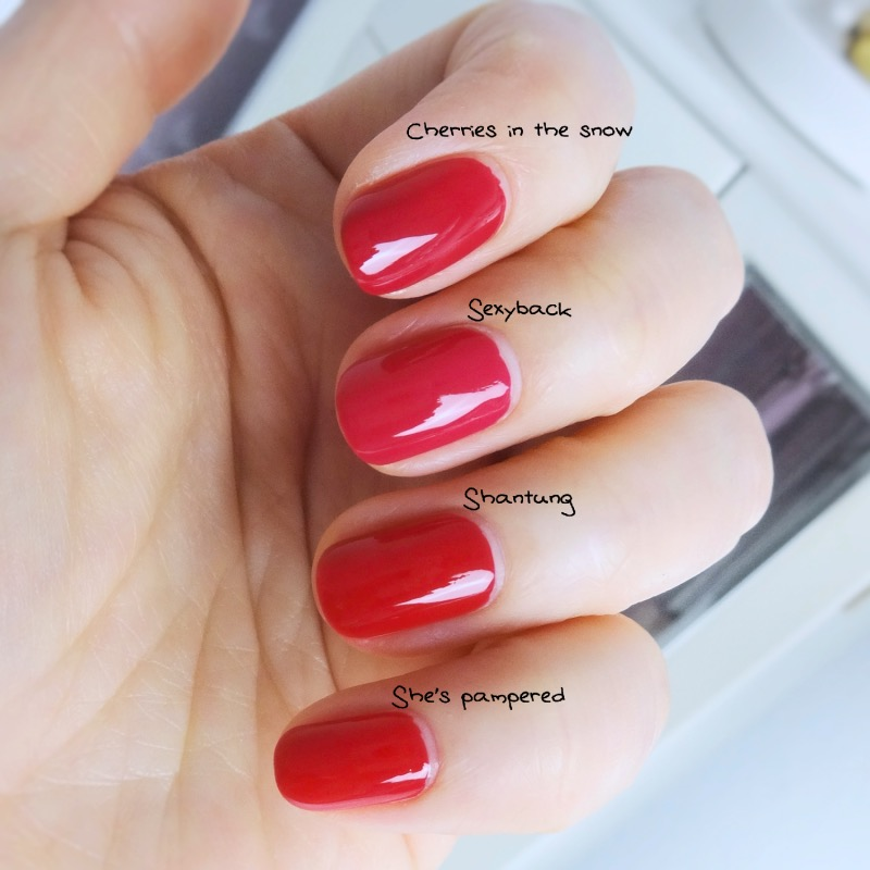 Chanel Le Vernis Shantung swatch dupe