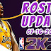 How to update roster NBA 2K21 Offline Version