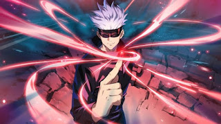 呪術廻戦アニメ   五条悟 かっこいい   CV.中村悠一   Jujutsu Kaisen   Gojo Satoru   Hello Anime !