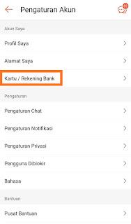Cara Verifikasi Rekening Bank di Shopeepay Terbaru 2020