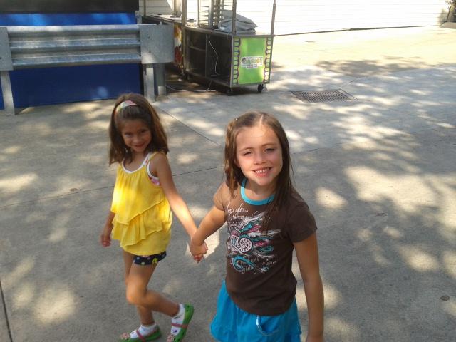 Cedar point girls