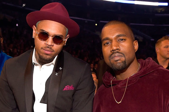 Kanye West Gifts Chris Brown A ₦45 Million Truck (PHOTOS)