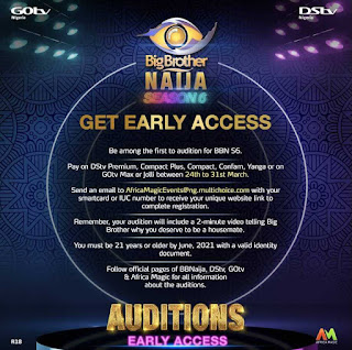 BBNaija 2021: How To Join Africa Magic Big Brother Naija Season 6 [Win N90M Price]