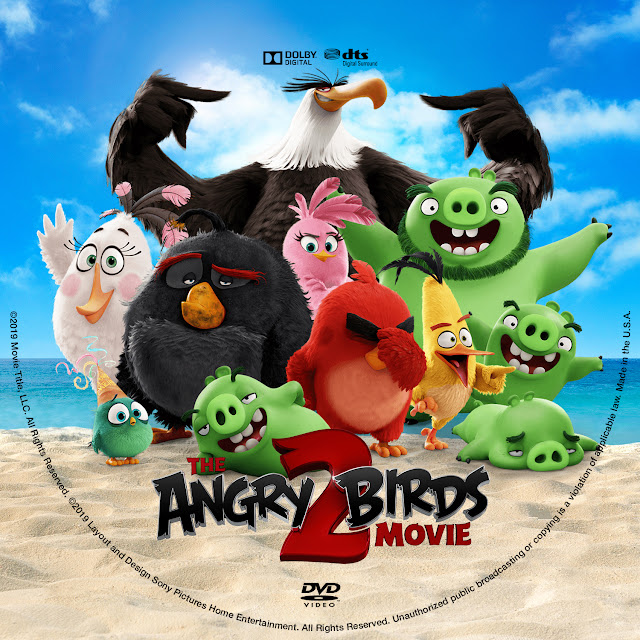 The Angry Birds Movie 2 DVD Cover