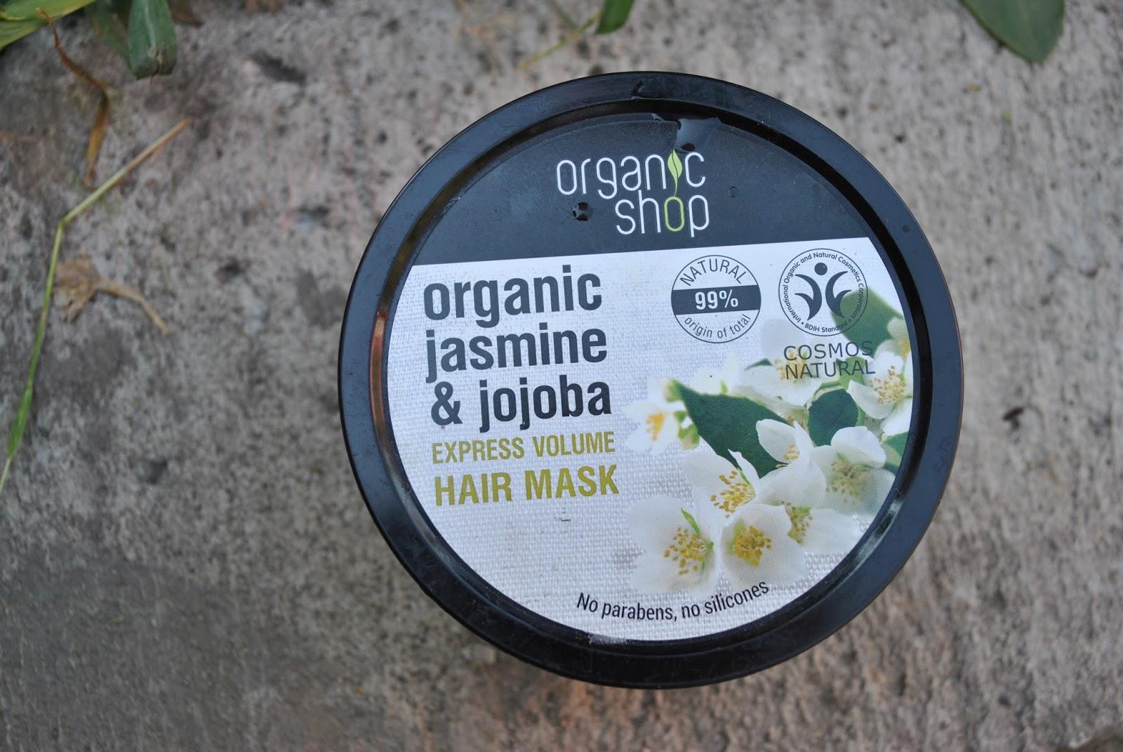 Maska Organic Shop Jaśmin & Jojoba