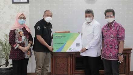 Zul Elfian Umar sambut kunjungan Deputi Direktur Wilayah BPJS Ketenagakerjaan Kanwil Sumbar-Riau