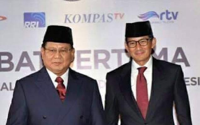Jajak Pendapat Kompas Sebut 53,5 Persen Pendukung Prabowo-Sandi Terima Hasil Pemilu, Netizen Geli
