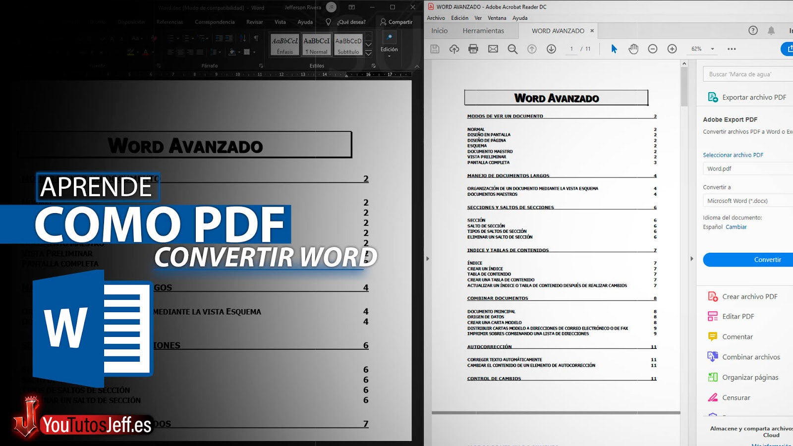 Como Guardar Documento Word en PDF
