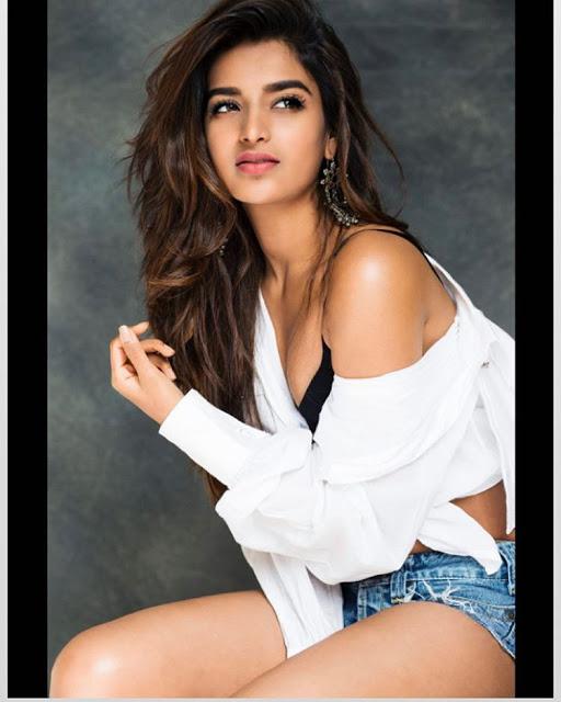 actress nidhhi agerwal hot photos stills photoshoot 2017
