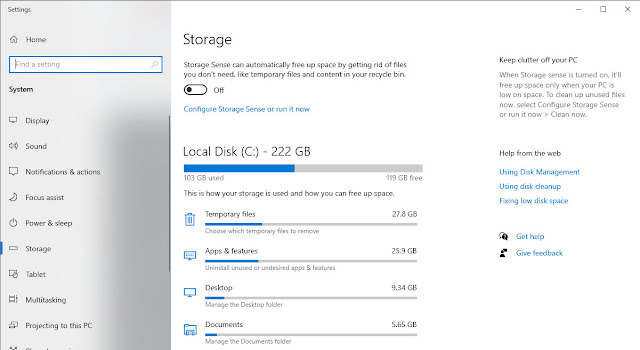Disk CleanUp Optimize Windows for Gaming