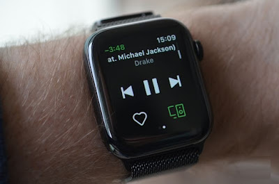 Primo sguardo Spotify Apple Watch
