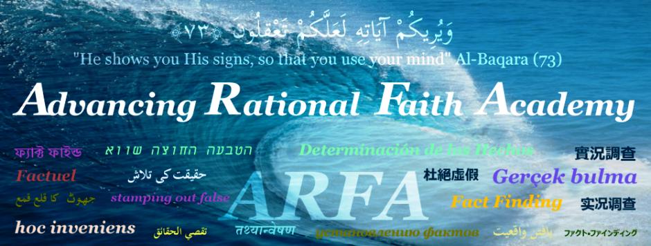 Advancing Rational Faith Academy (ARFA)