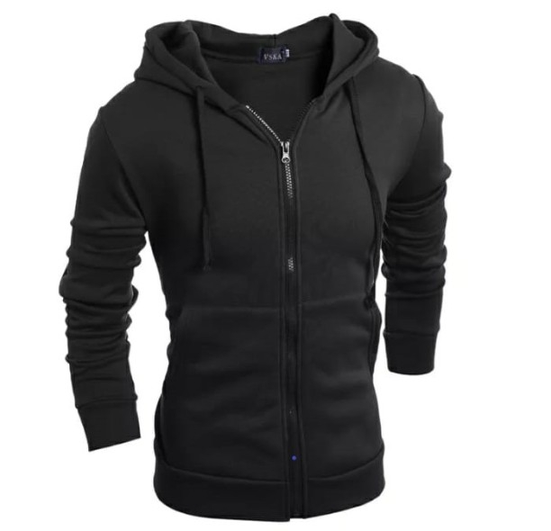 Men's hooded