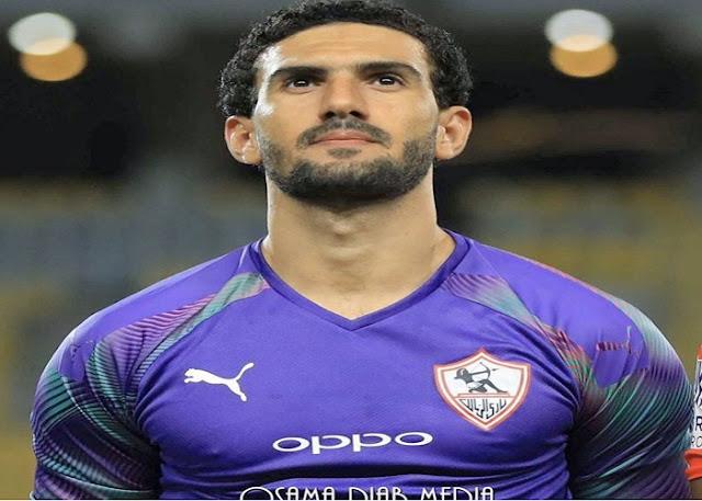 إصابة محمد عواد حارس الزمالك بفيروس كورونا ونجوم الكرة المصرية يدعمونه