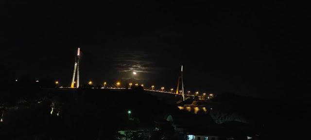 View dari kamar Harris Resort Barelang