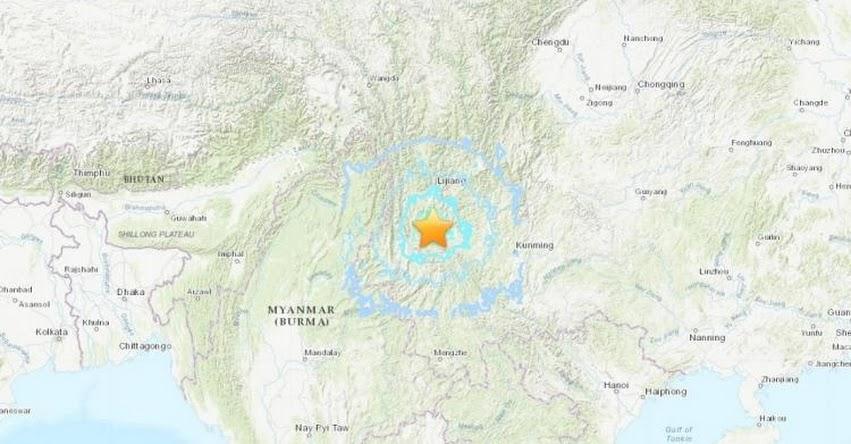 TERREMOTO EN CHINA: Se registran fuertes sismos de hasta magnitud 6,4 en Asia (Hoy Viernes 21 Mayo 2021) Epicentro Sismo - Temblor - Yangbi