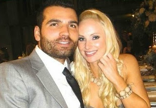 Joey Votto with his girlfriend Jeanne Paulus