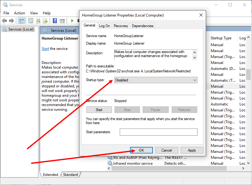 How To Disable The HomeGroup Feature In Window 7, 8, 8.1 & 10