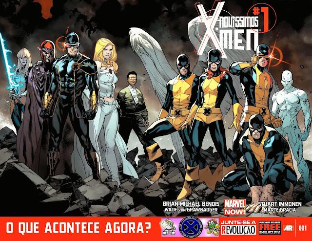 Novíssimos X-Men Volume 1 (Marvel NOW)