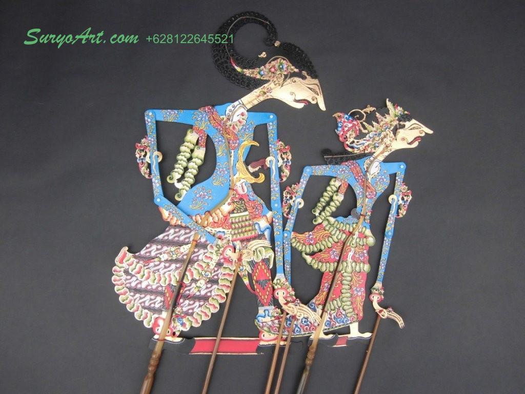 Kerajinan Wayang Kulit  Souvenir Khas Jawa SURYO ART
