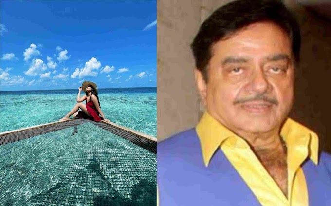 सोनाक्षी सिन्हा हॉट ड्रेस पहनकर मालदीव में छुट्टियां मनाती दिखी।