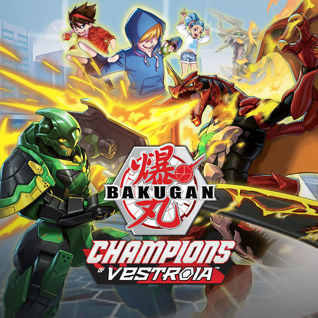 Spin Master, Warner Bros. Interactive Entertainment, and WayForward Announce 'Bakugan: Champions of Vestroia'