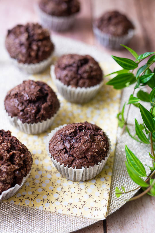 recette Muffins chocolat banane