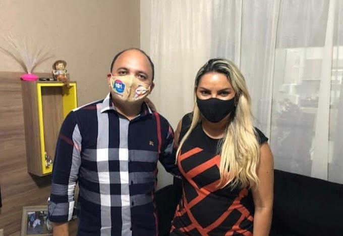 Deputada Eudiane Macedo lança pré-candidatura de Messias Araújo a prefeito de João Câmara