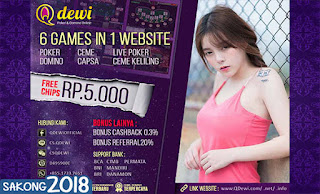 Cara Deposit Judi Domino Online QDewi.net